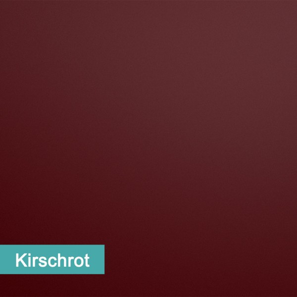 Möbelfolie Kirschrot - hochwertige papierbasierende Folie zum kinderleichten Verkleben von PrintYourHome.