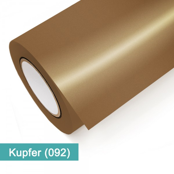 Kupfer Metallic 092   Klebefolie lfm