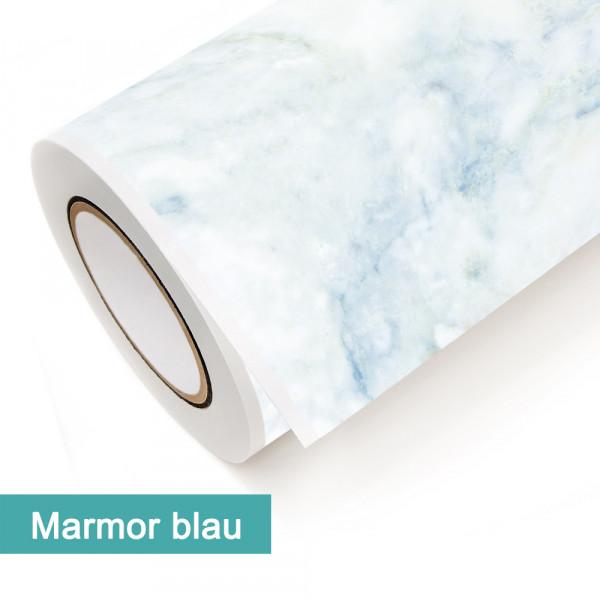 Klebefolie in Dekor Marmor Blau - günstig bei PrintYourHome.de