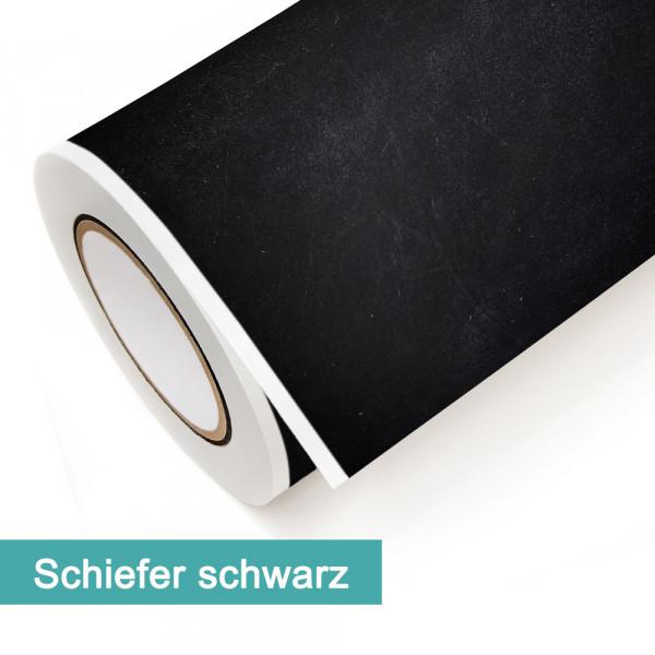 Klebefolie in Dekor Schiefer Schwarz - günstig bei PrintYourHome.de