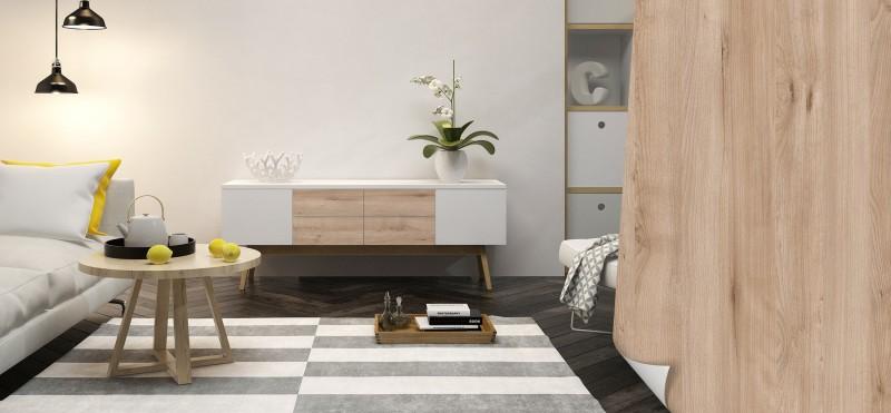 Möbelfolie in moderner Holzoptik | jetzt bestellen ...