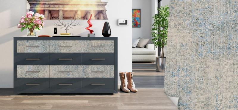Möbelfolie mit persischem Teppichmuster | jetzt bestellen ...
