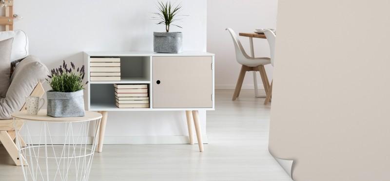Möbelfolie mit modernem Grauton | jetzt bestellen ...