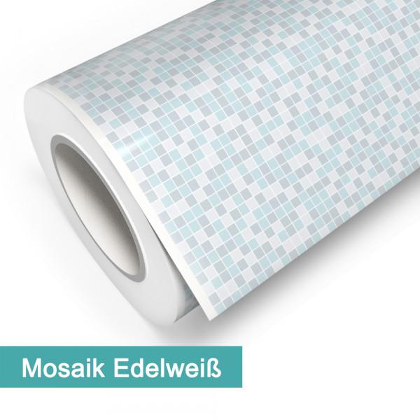 Klebefolie in Mosaik Edelweiß - günstig bei PrintYourHome.de