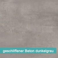 geschliffener Beton dunkelgrau | Möbelfolie