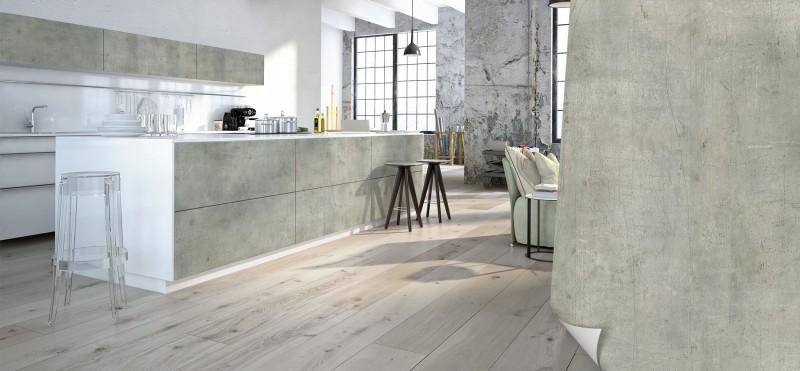 Möbelfolie Industrie Beton | jetzt bestellen ...