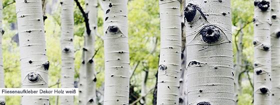 Unsere Fliesenaufkleber in Holzoptik geben dir das Gefühl ein Stück Natur Zuhause zu haben.
