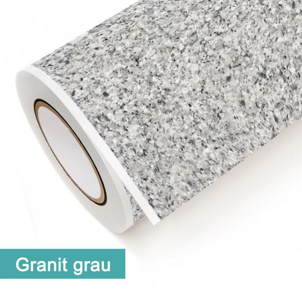 Klebefolie in Dekor Granit Grau - günstig bei PrintYourHome.de