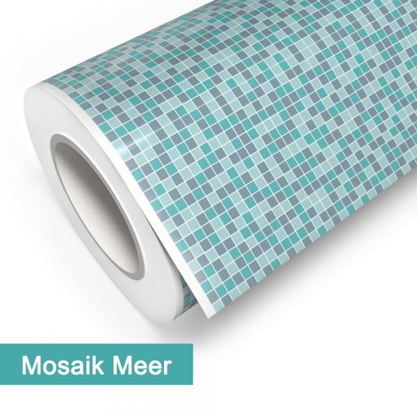 Klebefolie in Mosaik Meer - günstig bei PrintYourHome.de