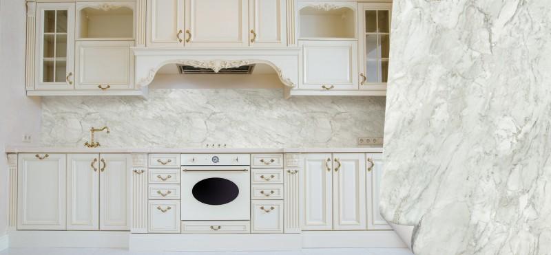 Möbelfolie mit edler Marmormaserung | jetzt bestellen ...