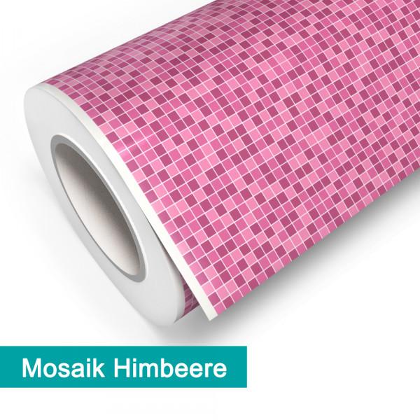 Klebefolie in Mosaik Himbeere - günstig bei PrintYourHome.de