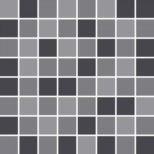 fliesenaufkleber mosaik grau k che bad bei printyourhome. Black Bedroom Furniture Sets. Home Design Ideas