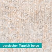 Möbelfolie persischer Vintage Teppich beige - hochwertige papierbasierende Folie zum kinderleichten Verkleben von PrintYourHome.