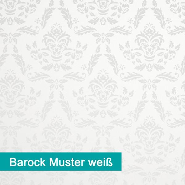 Möbelfolie Barock Muster weiß - hochwertige papierbasierende Folie zum kinderleichten Verkleben von PrintYourHome.