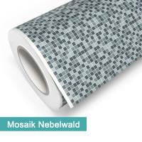 Klebefolie in Mosaik Nebelwald - günstig bei PrintYourHome.de