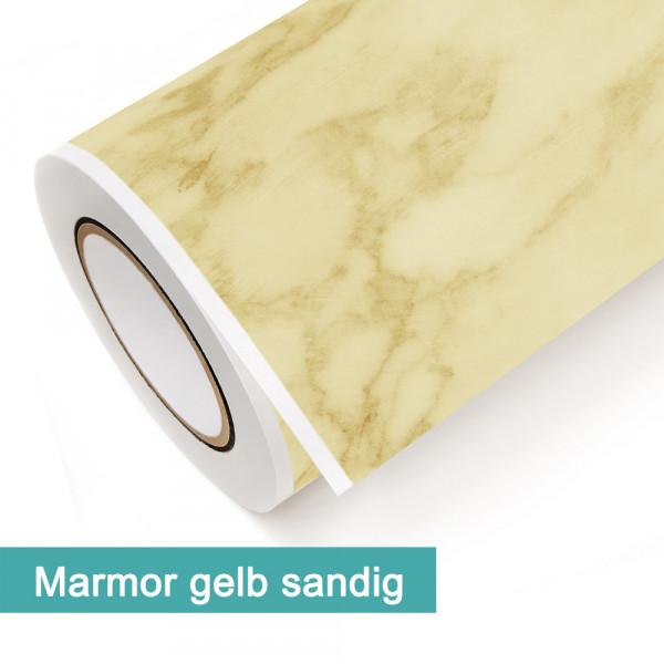 Klebefolie in Dekor Marmor Gelb Sandig - günstig bei PrintYourHome.de