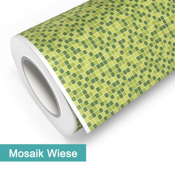Klebefolie in Mosaik Wiese - günstig bei PrintYourHome.de