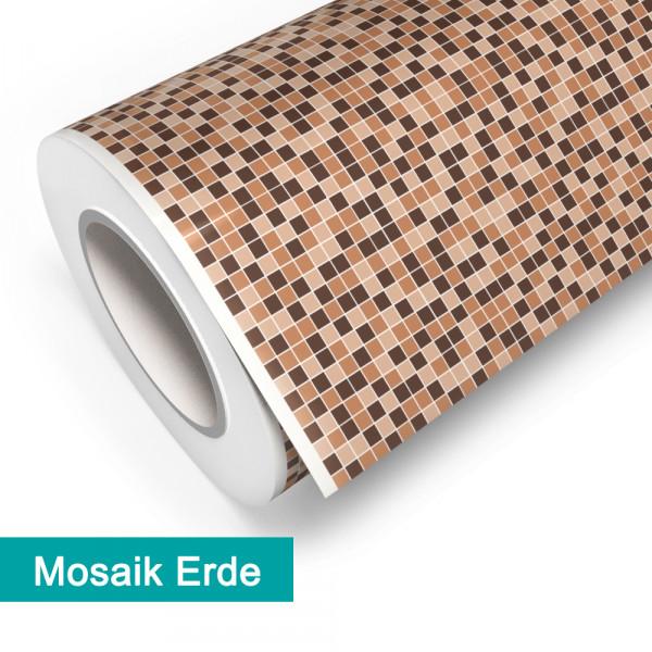 Klebefolie in Mosaik Erde - günstig bei PrintYourHome.de