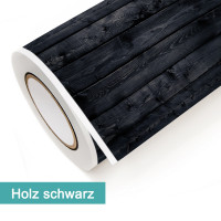 Klebefolie in Dekor Holz Schwarz - günstig bei PrintYourHome.de