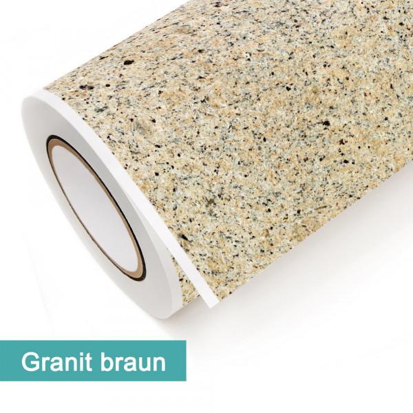 Klebefolie in Dekor Granit Braun - günstig bei PrintYourHome.de
