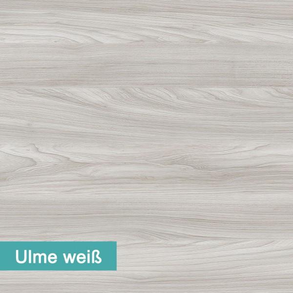 Möbelfolie Ulme weiß - hochwertige papierbasierende Folie zum kinderleichten Verkleben von PrintYourHome.