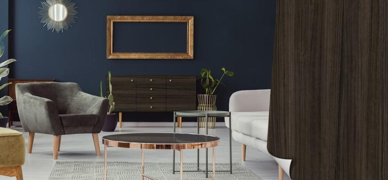 Möbelfolie in der Optik eines geräucherten Eukalyptuses | jetzt bestellen ...