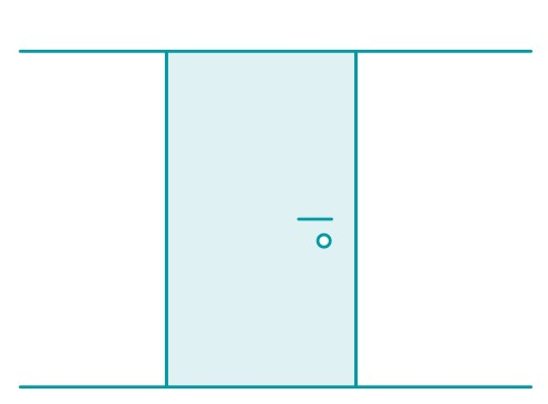 Anwendungsbeispiel Tür | Tecosmart Folien jetzt bestellen...