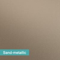 Möbelfolie Sand Metallic - hochwertige papierbasierende Folie zum kinderleichten Verkleben von PrintYourHome.