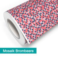 Klebefolie in Mosaik Brombeere - günstig bei PrintYourHome.de
