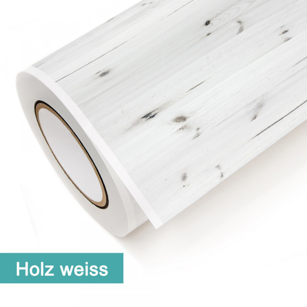 Klebefolie in Dekor Holz Weiß - günstig bei PrintYourHome.de