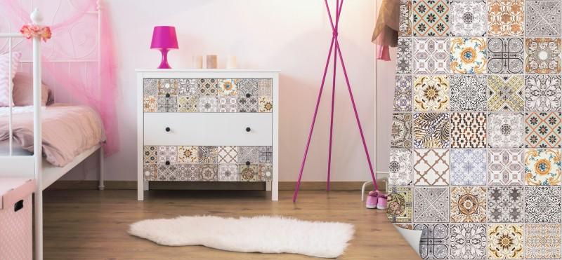 Möbelfolien mit Fliesenmustern geben deinem zu Hause die besondere Optik | jetzt bestellen ...
