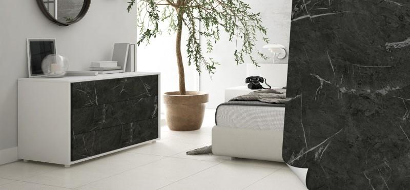Möbelfolie im Design Marmor Dunkelgrau | bestellen bei PrintYourHome.de