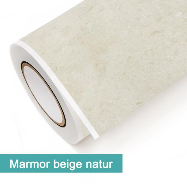 Klebefolie in Dekor Marmor Beige Natur - günstig bei PrintYourHome.de