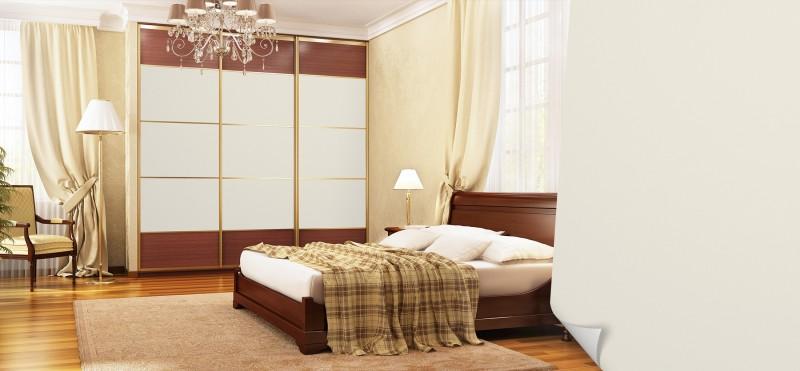 Einrichtungsbeispiel mit der Möbelfolie Antik weiss | jetzt bestellen PrintYourHome.de