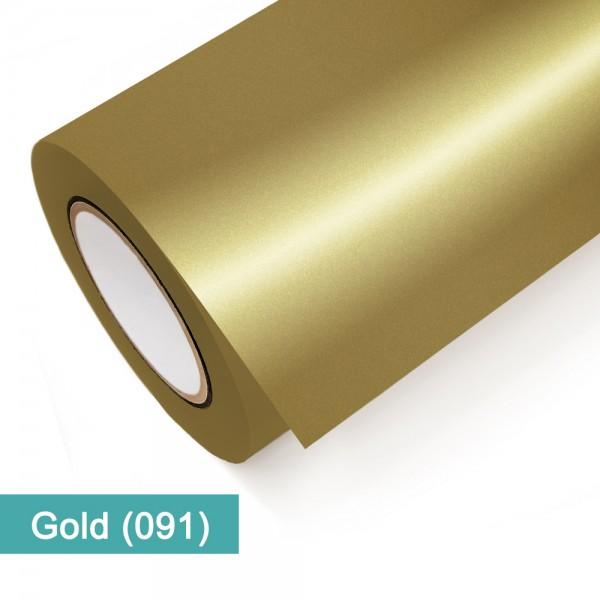 Gold Metallic 091 | Klebefolie lfm