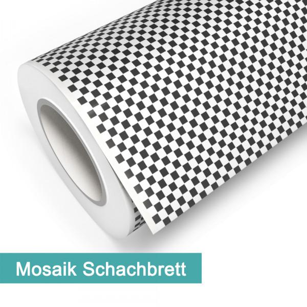 Klebefolie in Mosaik Schachbrett - günstig bei PrintYourHome.de