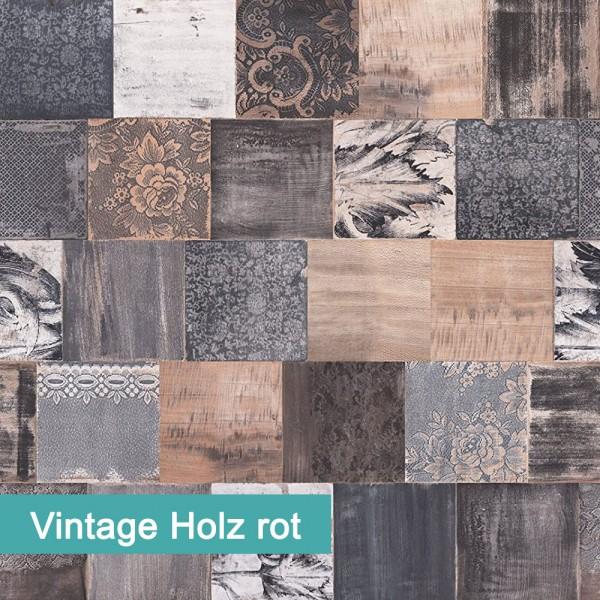 Vintage Holz Rot | Möbelfolie