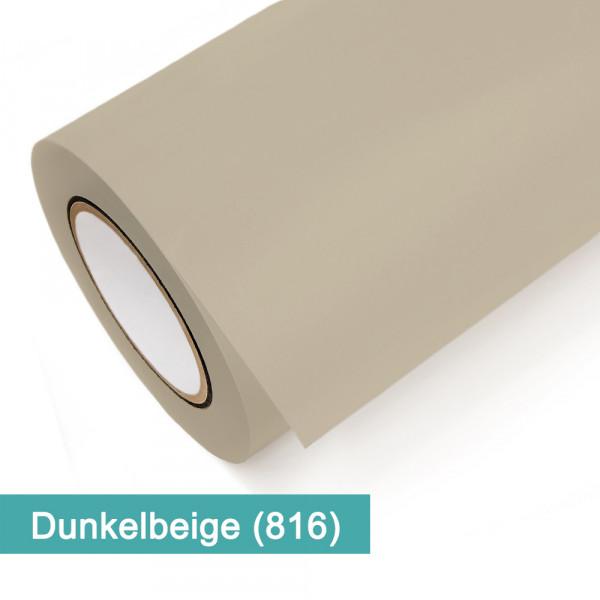Klebefolie in Dunkelbeige - günstig bei PrintYourHome.de