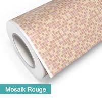 Klebefolie in Mosaik Rouge - günstig bei PrintYourHome.de