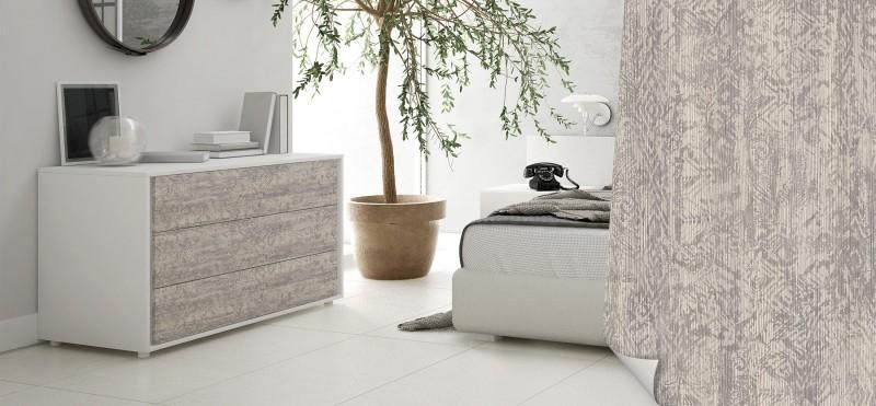 Möbelfolie mit modenem hellem Holz Look | jetzt bestellen...