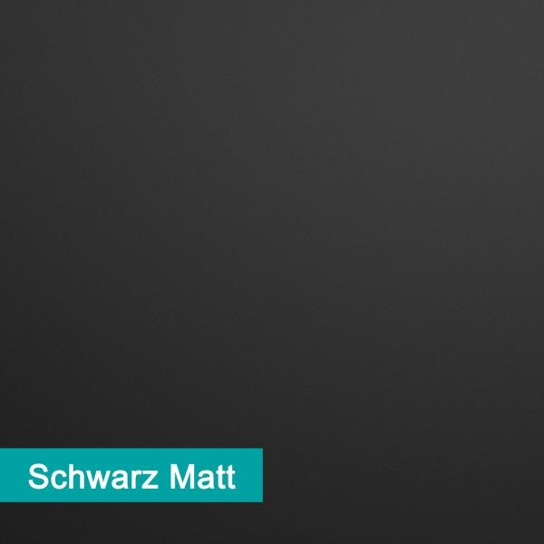 Möbelfolie Schwarz Matt - hochwertige papierbasierende Folie zum kinderleichten Verkleben von PrintYourHome.