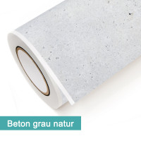 Klebefolie in Dekor Beton Grau Natur - günstig bei PrintYourHome.de