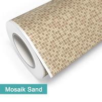 Klebefolie in Mosaik Sand - günstig bei PrintYourHome.de