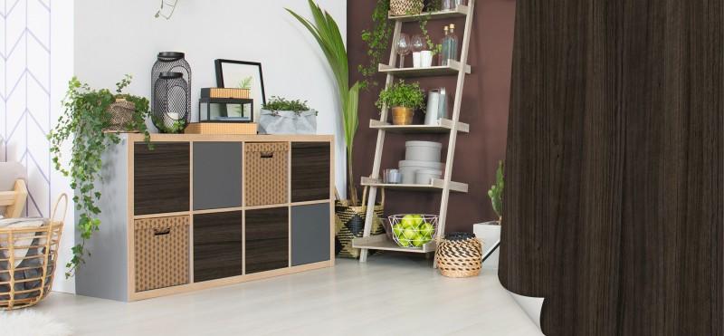 Möbelfolie mit rustikalem Eukalyptus Flair | jetzt bestellen ...