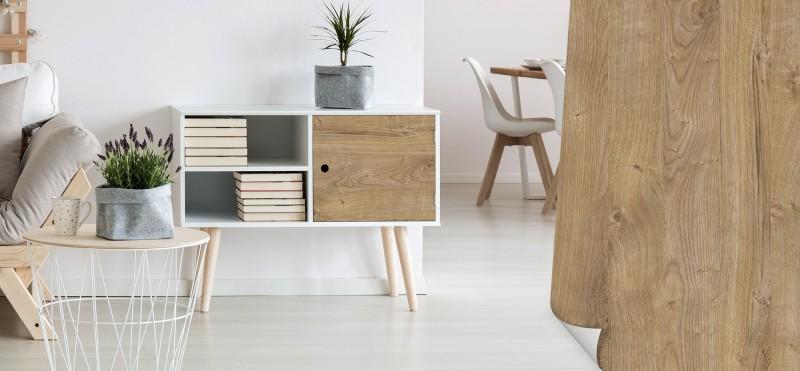 Möbelfolie im Stil 'Eiche natur hell' | jetzt bestellen ...