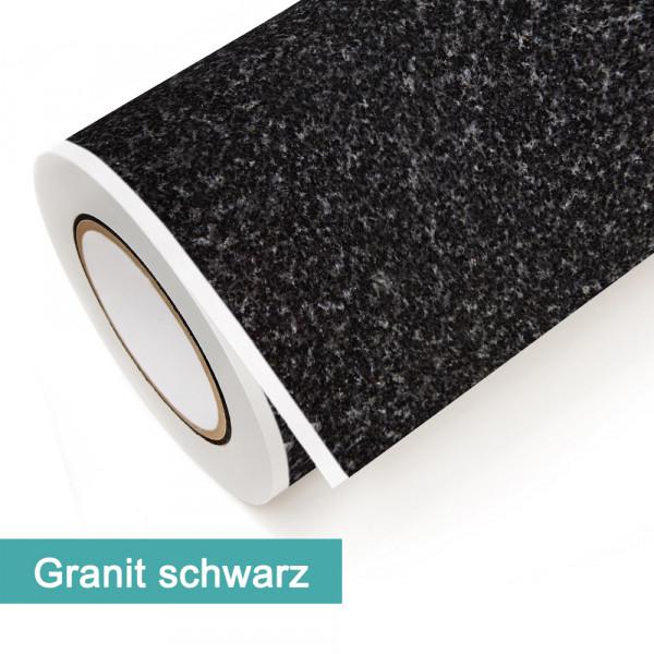 Klebefolie in Dekor Granit Schwarz - günstig bei PrintYourHome.de