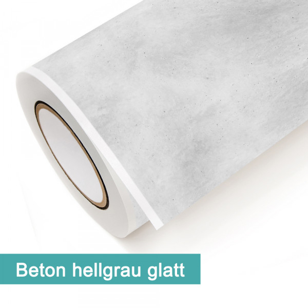 Klebefolie in Dekor Beton Hellgrau Glatt - günstig bei PrintYourHome.de